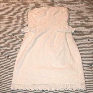 Strapless Lilly Pulitzer Dress 0 EUC